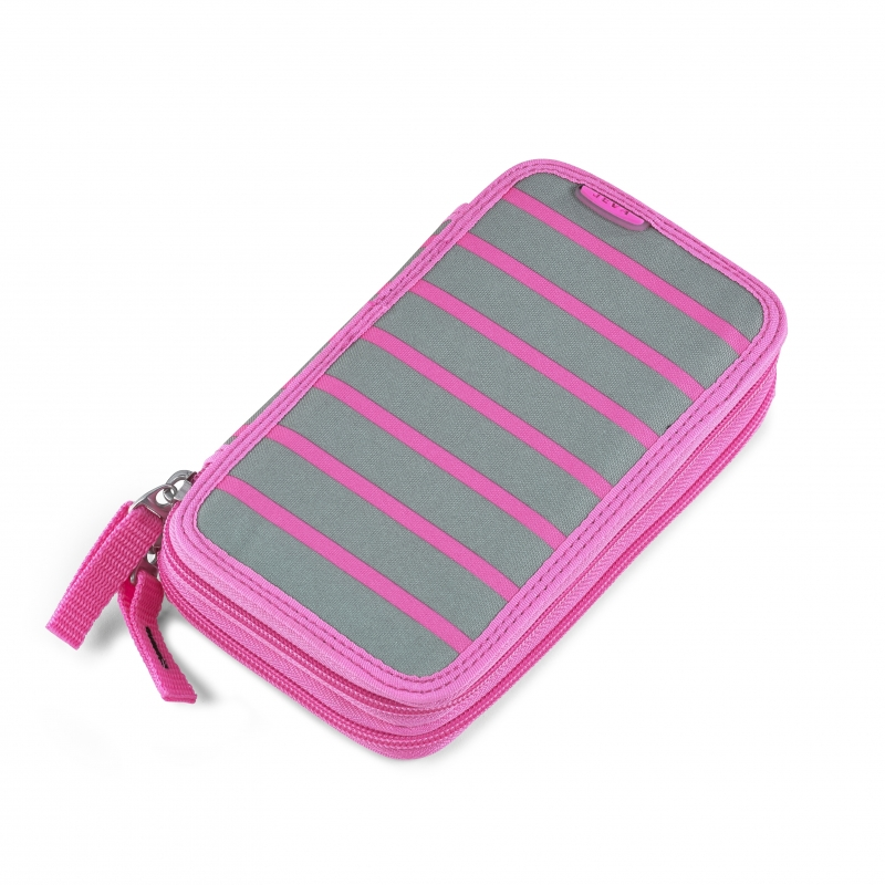 Pinal Twozip Pink Stripes