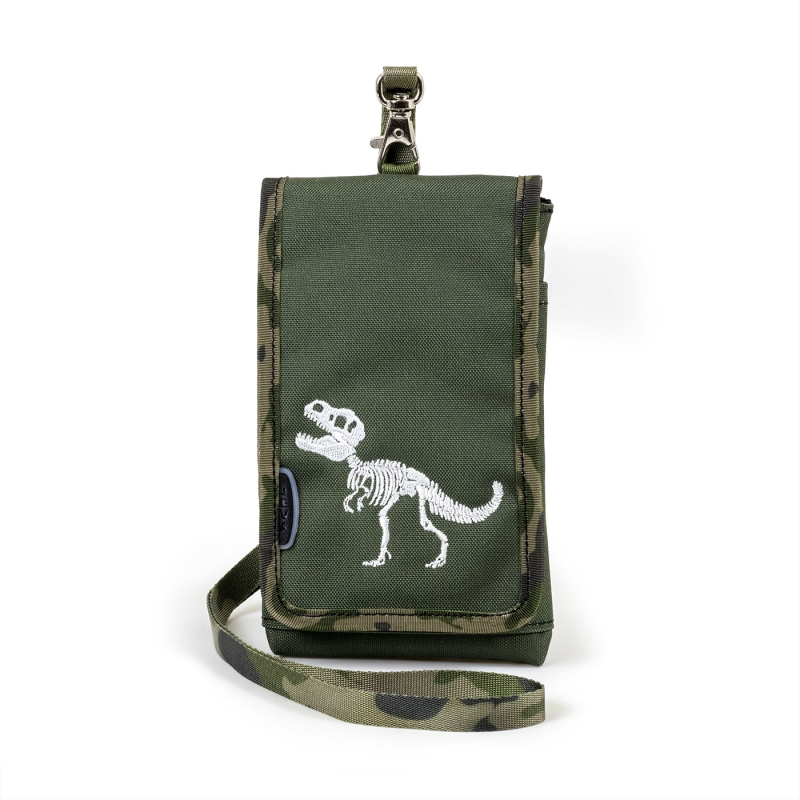 Mobiilitasku-rahakott T-rex