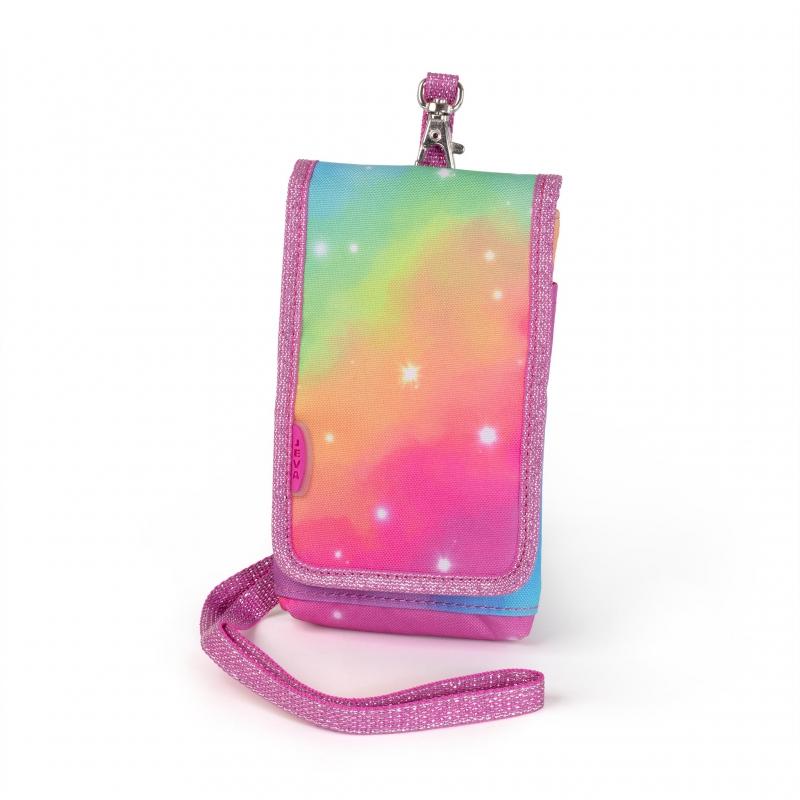 Mobiilitasku-rahakott rainbow unicorn