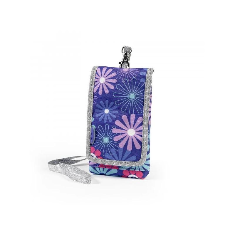 Mobilo telefonu kabatā-maku Violet