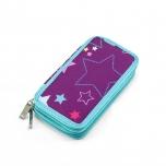 Twozip Purple Stars